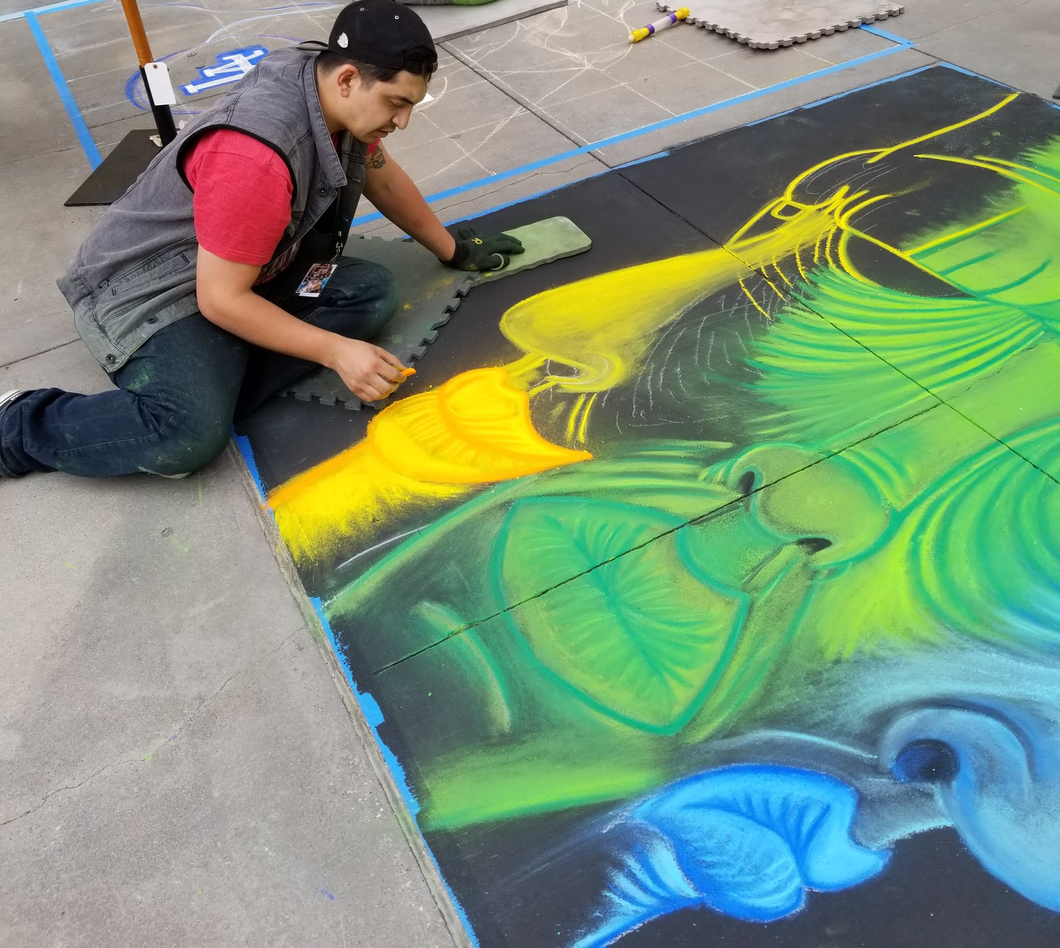 Pasadena Chalk Festival 2020 CHALK FESTIVAL PASADENA EVENT REVIEW   Table To Stage